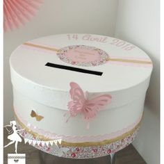 Party Co, Communion, Rose Fushia, Rose Pale, Decorative Boxes, Baby Shower, Eloise, Boudoir, Diy