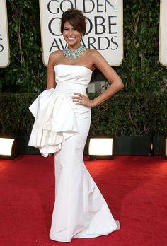 Eva Mendes in Christian Dior