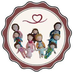 Waldorfpuppen Schnittmuster Baby, Cuddling, Sewing Patterns, Craft, Kids, Babies, Infant, Child, Babys