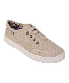Another great find on #zulily! Natural Cozumel Vapor Linen Sneaker #zulilyfinds