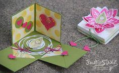 Explosionbox Stampin' Up! Baby Geburt Blüte Stempelset Friends & Flowers http://kreativstanz.bastelblogs.de/ Kreativstanz – Stampin' Up!  #explosionbox #friendsandflowers