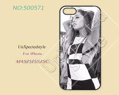 Ariana grande Phone Cases, iPhone 5/5S Case, iPhone 5C Case, iPhone 4/4S Case, Phone covers, ariana grande, Skins, Case for iPhone-500571