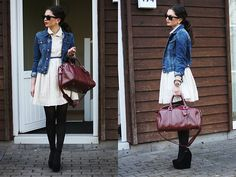 Simple and casual (by Anni ***) http://lookbook.nu/look/3372527-simple-and-casual