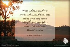 """Here's a quote you can send as a note...  (We have many more at the website under the """"Share"""" tab!)  http://www.meetmeinthemeadow.com/2015/04/note-quote-jeremiah-1516/"""