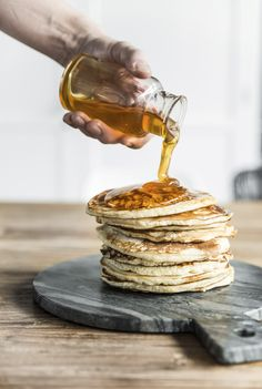 More syrup, please.