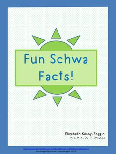 """If you feel overwhelmed just  hearing the word SCHWA, then this is the multisensory lesson for you and your students. This multisensory resource provides powerful information related to the concept of schwa.  So often, students ask """"BUT WHY?"""" when it comes to schwa."""