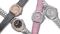 Launching a new line of ladies' Terrascope #watches @jrwatches downsizing the case to 39mm and adding some feminine flourishes #luxurywatch  See more at www.thejewelleryeditor.com