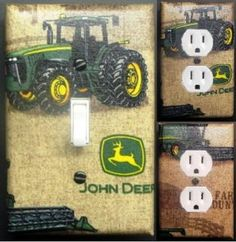 light  switch plate covers | John Deere Decorative Pillow I Make Dirt Look Good 18 by 13-Inch Scene