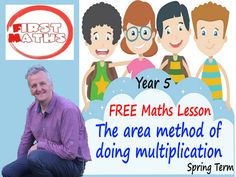 YouTube The area method of doing multiplication  Maths PowerPoint Lesson - Year 5 - Spring Term