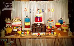 pinocchio themed birthday party - Google Search