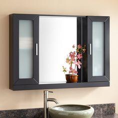 "48 Medicine Cabinet Monterey 48"" X 36"" Surface Mount Medicine Cabinet With Lighting"