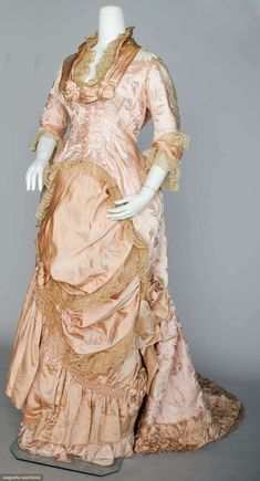 Reception Gown 1880s Augusta Auctions