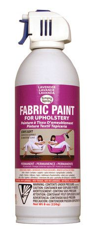 Lavender Upholstery Fabric Paint