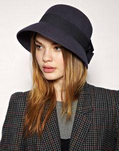 Catarzi Felt Bow Hat 39.65 at us.asos.com