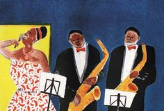 Sam Nhlengethwa, Jazz Series Tacet South African Art, Contemporary African Art, Africa Art, Jazz, Painting, African Art, Jazz Music, Painting Art, Paintings