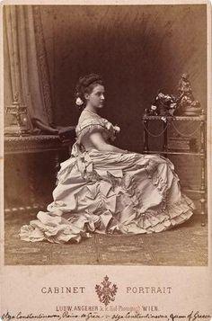 Grand Duchess Olga Constantinova, Queen of Greece