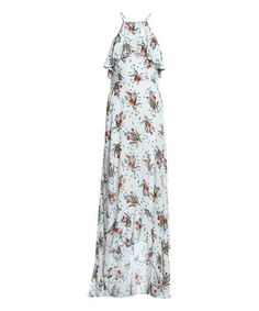 Look at this #zulilyfind! Off-White Dandelion Maxi Dress #zulilyfinds