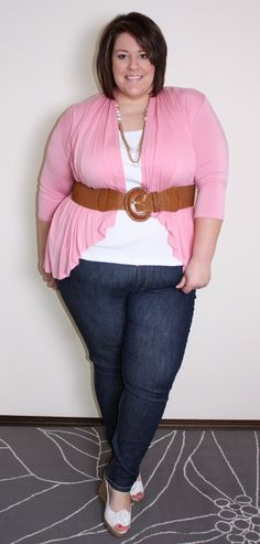 From plus size fashion blogger Jessica Kane. www.lifeandstyleofjessica.com Cardi from @SWAK Designs Plus Size Fashion