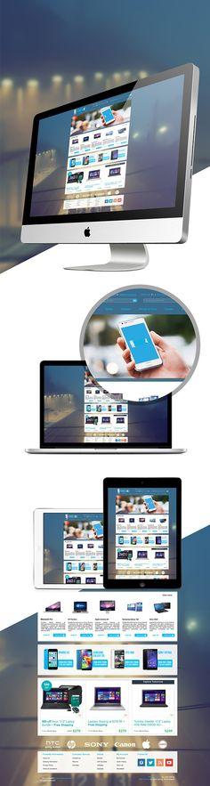 Gadget Website on Behance