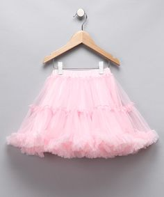 Take a look at this Pink Petite Pettiskirt - Girls by Oopsy Daisy Baby on #zulily today!