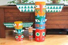 Image result for totem poles kids craft activity