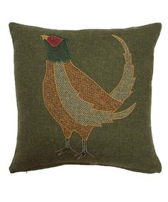 animal applique cushions in tweed - Google Search