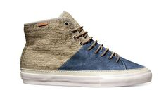 e0734d3df67c4a Vans Vault 2012 Fall Winter Priz Hi Lace II LX   Deriving its name from a  prison issued sneaker with similar styling