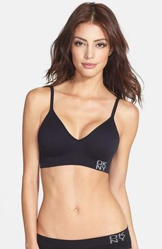 Free shipping and returns on DKNY 'Energy' Seamless Bralette at Nordstrom.com. A smooth, wirefree bralette is designed with molded double-layer cups to disappear beneath clothes without a trace while creating a natural, rounded silhouette.