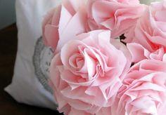 1423 Best Fiori Di Carta Crespa Images Fabric Flowers Paper