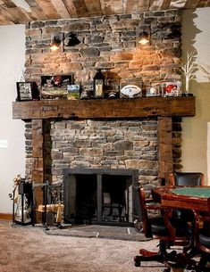 Nice 80 Incridible Rustic Farmhouse Fireplace Ideas Makeover https://roomadness.com/2017/11/25/80-incridible-rustic-farmhouse-fireplace-ideas-makeover/