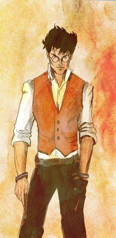 Harry Potter - Auror by Hilly Minne Art