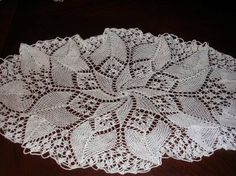 Crochet Dollies, Crochet Flowers, Lace Patterns, Knitting Patterns, Knitting For Kids, Crochet Motif, Doilies, Living Room Designs, Stitch
