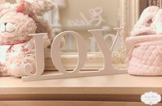JOY- decorative letters