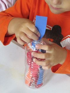 Water bottle collages - - Pinned by #PediaStaff.  Visit http://ht.ly/63sNt for all our pediatric therapy pins