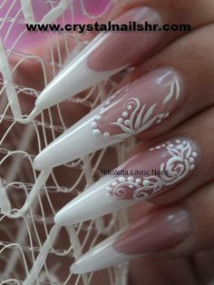 #wedding #nails #design