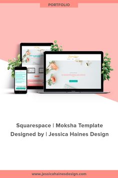 Jessica Haines Design   Custom Squarespace website design for my Squarespace webdesign and branding company. If you want to help take your business to the next level, click through to see what your new Squarespace website and brand refresh could look like!    www.jessicahainesdesign.com Graphic Design Projects, Website, Business Design, Portfolio Design, Branding Design, My Design, Portfolio Design Layouts, Brand Design, Brand Identity Design