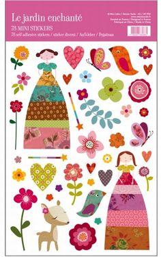 Stickers The garden