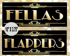 Great Gatsby PRINTABLES, Selfie Station, Photobooth sign*Gatsby party decoration, Roaring Art deco*Wedding photobooth sign*Grab a prop Prohibition Party, Speakeasy Party, Gatsby Wedding, Art Deco Wedding, Party Wedding, Roaring 20s Wedding, Nye Party, Wedding Ideas, 1920 Gatsby