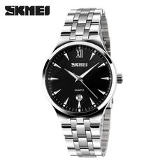 SKMEI Quartz Watch Women Fashion Casual Watches Relogio Feminino Steel Waterproof Wristwatches