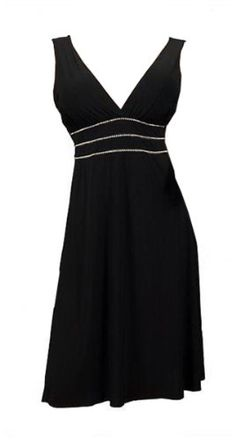 eVogues-Plus-Size-Sexy-Black-Rhinestone-Low-Cut-V-Neck-Cocktail-Dress-2X-0