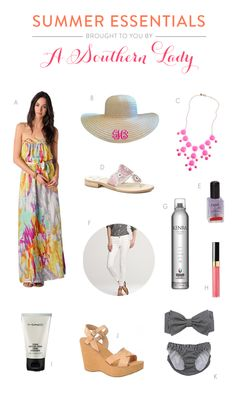 Southern fashion essentials for the summer!