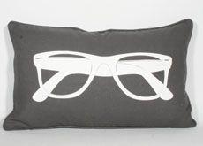 Sunglasses Printed Pillow Grey $19.95
