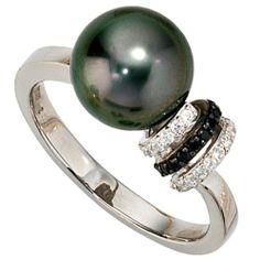 Dreambase Damen-Ring 1 Tahiti-Zuchtperle 14 Karat (585) Weißgold 33 Diamant 0.21 ct. 54 (17.2) von Dreambase, http://www.amazon.de/dp/B00AB3V7V2/ref=cm_sw_r_pi_dp_Rw..qb1E9VQ1A