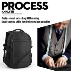 New Swiss multifunctional men luggage travel bags Wenger computer backpack09 from China