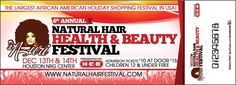 Natural Hair Festival 2014 Incoming Event will be on: Friday - Sunday December - 2014 NRG Center Houston, TX (Formerly Know as Reliant Center) Hair Health And Beauty, Hair Vitamins, Hair Shows, Houston Tx, Natural Hair Styles, Hair Makeup, December, Sunday, Vitamins For Hair