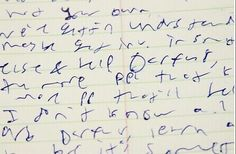 I will improve my handwriting