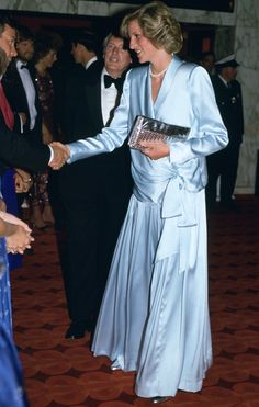 Princess Diana at 'Indiana Jones And The Temple of Doom' premiere - June 1984  baby count down