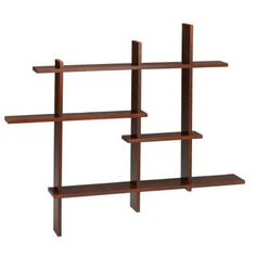 Home Decorators Collection Deluxe Mahogany 41 In. H Standard Display Shelf $134 #shelving #display #homedecor