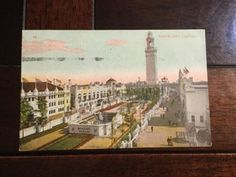 White City Chicago Summer Amusement Resort Antique Postcard 1910 PM Divided Back
