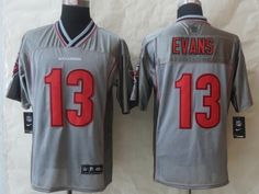 Tampa Bay Buccaneers 13 Evans Grey Vapor 2014 New Nike Elite Jerseys
